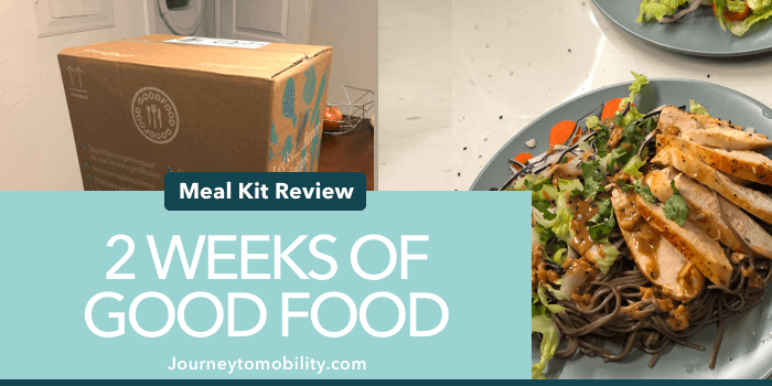2 weeks of goodfood review