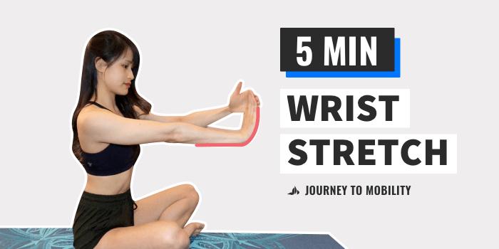 wrist stretches for yoga